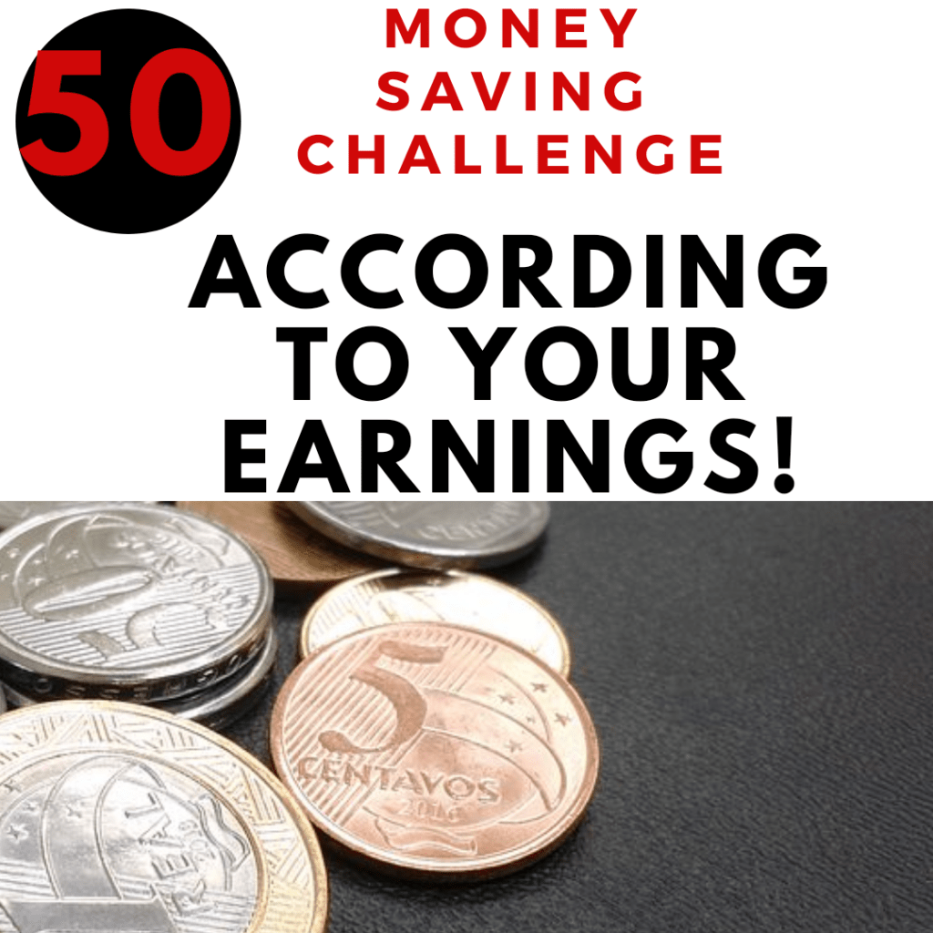 50 Money-Saving Challenge to Start According to Your Earnings 2