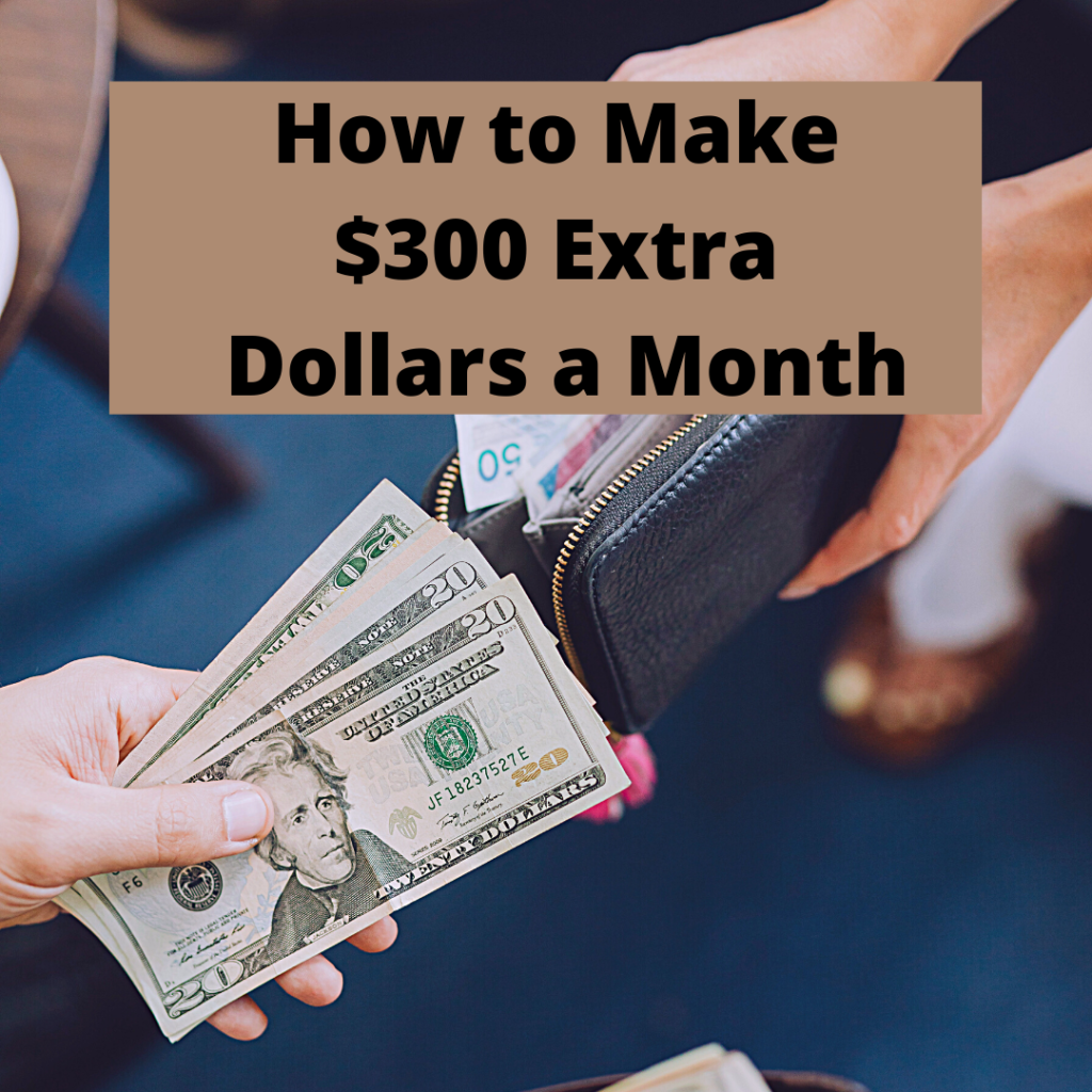 How to Make $300 Extra Dollars a Month